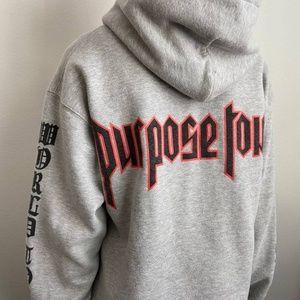 Justin Bieber Purpose Tour Hoodie   Size S